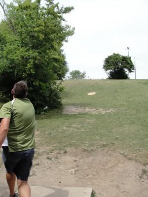 Lime-Kiln Park, Main course, Hole 6 Tee pad