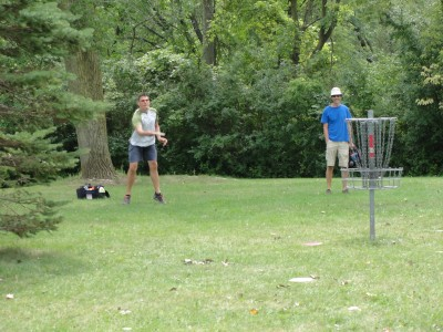 Lime-Kiln Park, Main course, Hole 4 Putt