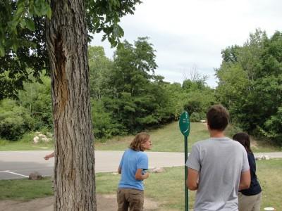 Lime-Kiln Park, Main course, Hole 5 Tee pad