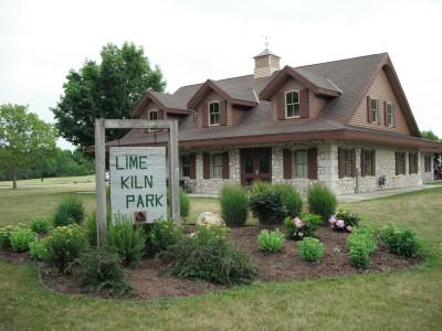 Lime-Kiln Park, Main course, Hole 1 Hole sign
