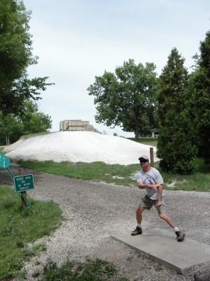 Lime-Kiln Park, Main course, Hole 9 Tee pad