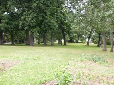 Burr Oak Groves, Main course, Hole 7 Tee pad