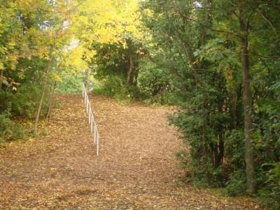 Grignon Park, Main course, Hole 2 Tee pad