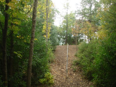 Grignon Park, Main course, Hole 18 Tee pad