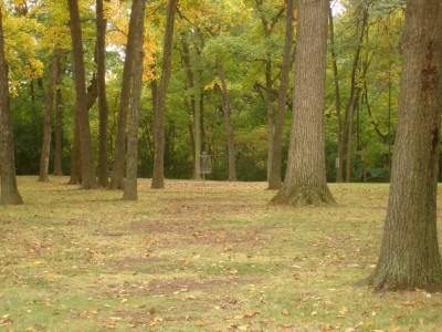 Grignon Park, Main course, Hole 14 Tee pad