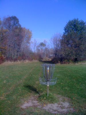 University of Wisconsin Parkside, East, Hole 5 Reverse (back up the fairway)