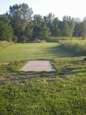 University of Wisconsin Parkside, East, Hole 4 Short tee pad
