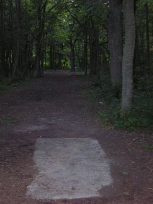 University of Wisconsin Parkside, East, Hole 6 Short tee pad