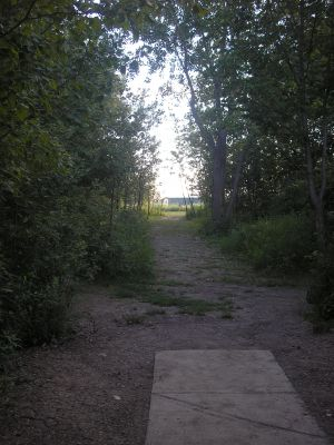 University of Wisconsin Parkside, East, Hole 9 Tee pad