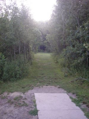University of Wisconsin Parkside, East, Hole 12 Tee pad