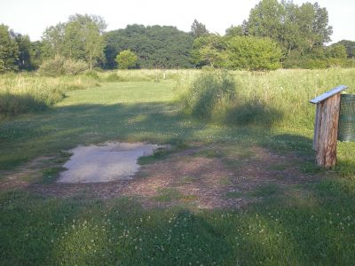 University of Wisconsin Parkside, East, Hole 3 Short tee pad