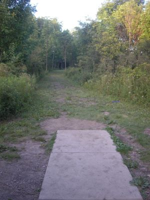 University of Wisconsin Parkside, East, Hole 7 Tee pad