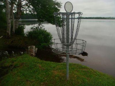 Sandy Point Resort Disc Golf Ranch, Main course, Hole 27 Putt