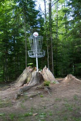 Sandy Point Resort Disc Golf Ranch, Main course, Hole 14 Putt