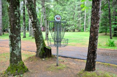 Sandy Point Resort Disc Golf Ranch, Main course, Hole 12 Putt
