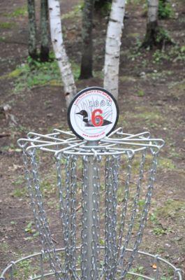 Sandy Point Resort Disc Golf Ranch, Main course, Hole 6 Putt