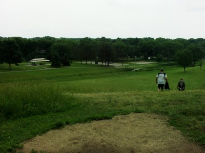 Hiestand Park, Main course, Hole 3 Short tee pad