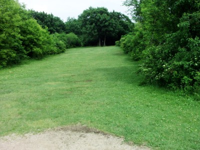 Hiestand Park, Main course, Hole 17 Short tee pad