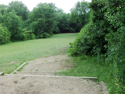 Hiestand Park, Main course, Hole 15 Short tee pad