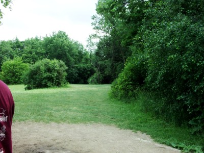 Hiestand Park, Main course, Hole 11 Short tee pad