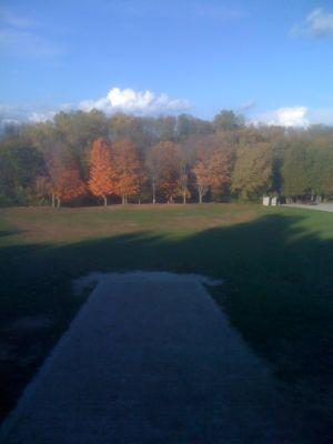 Silver Creek Park, Main course, Hole 14 Long tee pad