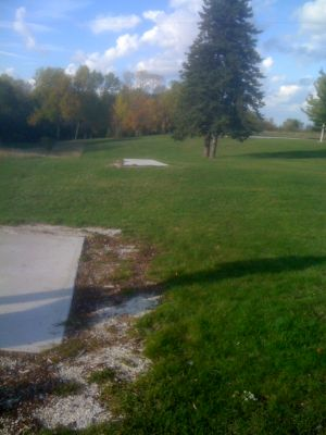 Silver Creek Park, Main course, Hole 11 Long tee pad