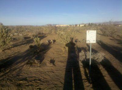 Cactus Flats, Main course, Hole 7 Tee pad