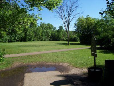 O'Hauser Park, Main course, Hole 3 Tee pad