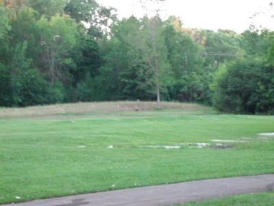 O'Hauser Park, Main course, Hole 3 Tee pad