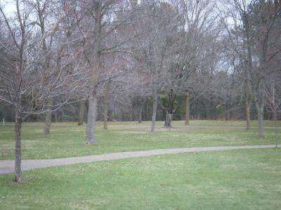 Wakanda Park, Main course, Hole 1 Tee pad