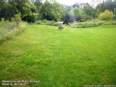 Homestead High School, Main course, Hole 6 Putt