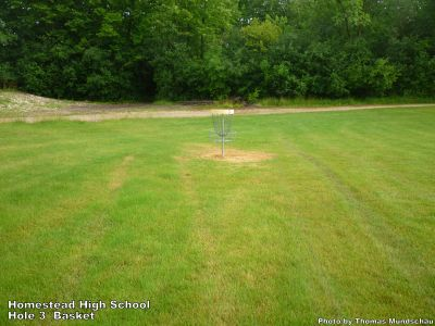 Homestead High School, Main course, Hole 3 Putt