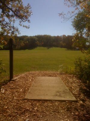 Brown Deer Park, Main course, Hole 7 Tee pad