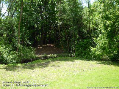 Brown Deer Park, Main course, Hole 11 Midrange approach