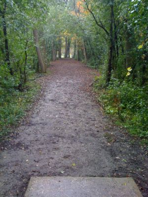 Brown Deer Park, Main course, Hole 12 Tee pad