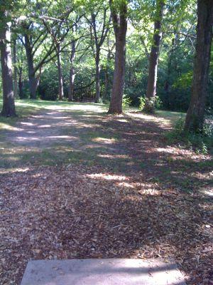 Brown Deer Park, Main course, Hole 8 Tee pad