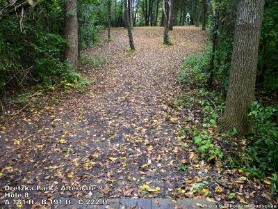 Dretzka Park, Main course, Hole 26 Tee pad