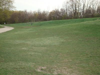 Valley View Park, Main course, Hole 2 Tee pad