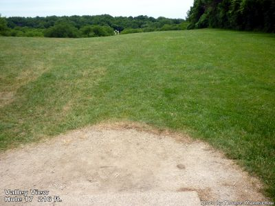 Valley View Park, Main course, Hole 17 Tee pad