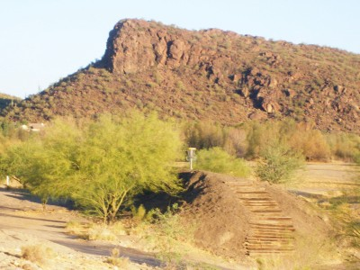 Marana Rock, Main course, Hole 1 Tee pad