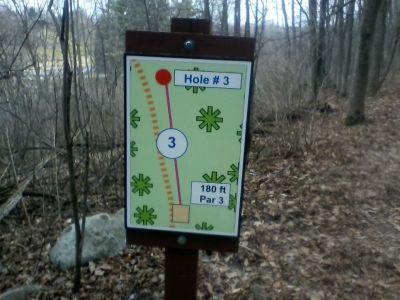 H.A. Meyer Park, Main course, Hole 3 Tee pad