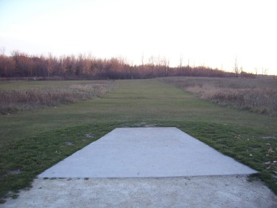 Tendick Nature Park, Main course, Hole 16 Short tee pad