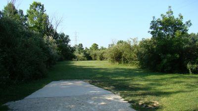 Tendick Nature Park, Main course, Hole 5 Tee pad