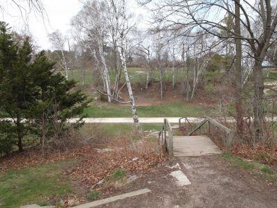 Vollrath Park, Main course, Hole 10 Tee pad