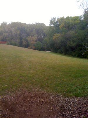 Fox River Park, Main course, Hole 3 Long tee pad