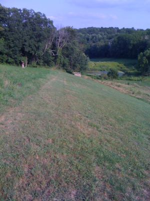 Justin Trails, Big Brother, Hole 14 Long tee pad