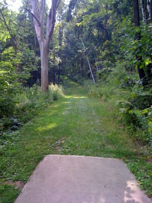 Justin Trails, Big Brother, Hole 9 Long tee pad