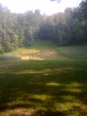 Justin Trails, Big Brother, Hole 11 Long tee pad
