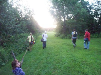 Mahr's Meadow, Main course, Hole 6 Tee pad
