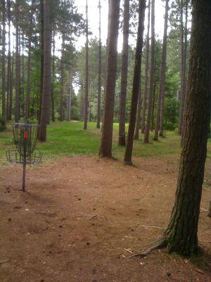 Yulga, Main course, Hole 16 Reverse (back up the fairway)